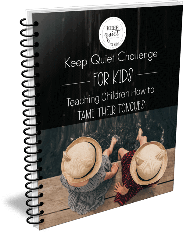 Keep Quiet Challenge for Kids - Teaching Children How to Tame Their Tongues