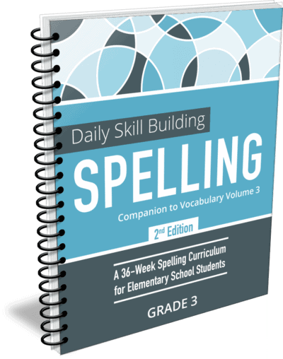 Daily Skill Building: Spelling Grade 3 Companion 2nd Edition