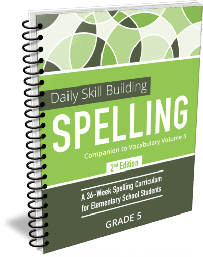 Daily Skill Building: Spelling Grade 5 Companion 2nd Edition