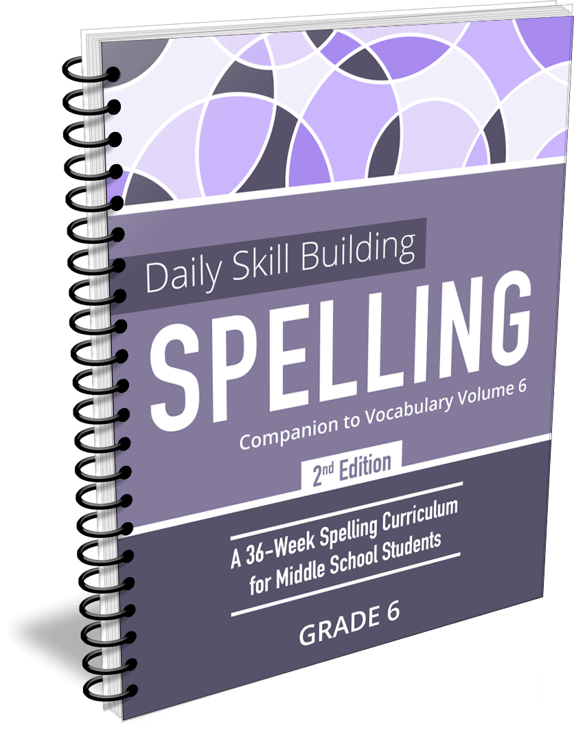 Daily Skill Building: Spelling Grade 6 Companion 2nd Edition