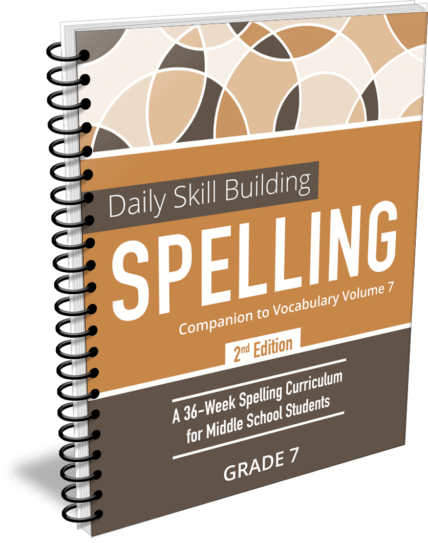Daily Skill Building: Spelling Grade 7 Companion 2nd Edition