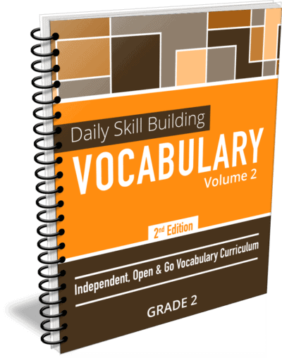 Daily Skill Building: Vocabulary - Grade 2 Second Edition