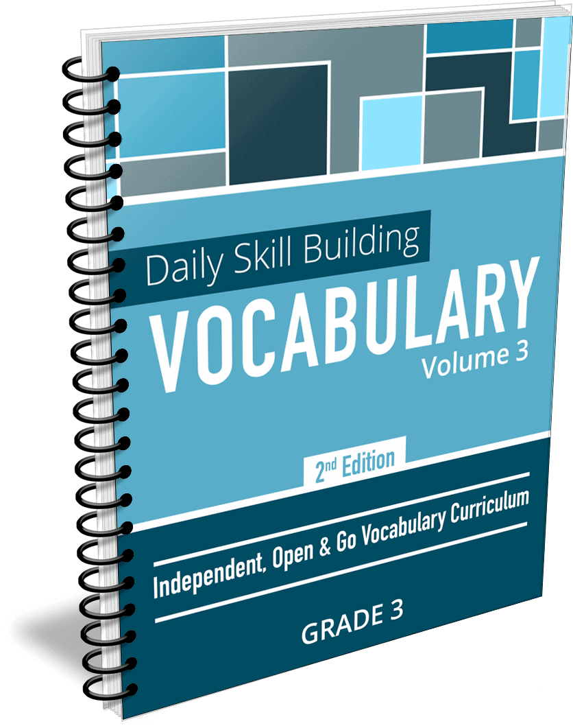Daily Skill Building: Vocabulary - Grade 3 Second Edition