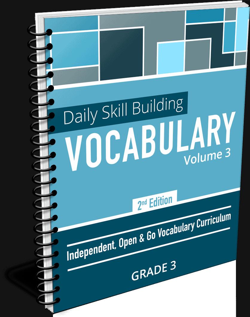 Daily Skill Building: Vocabulary - Grade 3 Second Edition