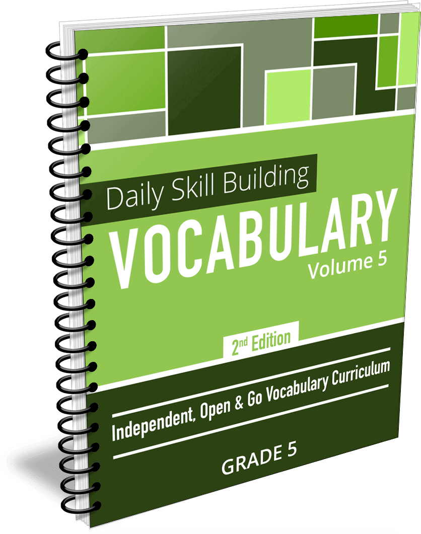 Daily Skill Building: Vocabulary - Grade 5 Second Edition