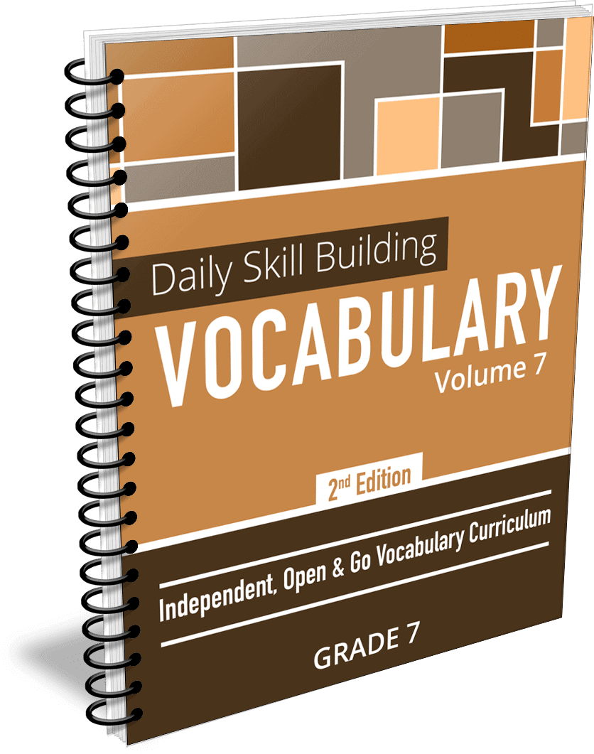 Daily Skill Building: Vocabulary - Grade 7 Second Edition