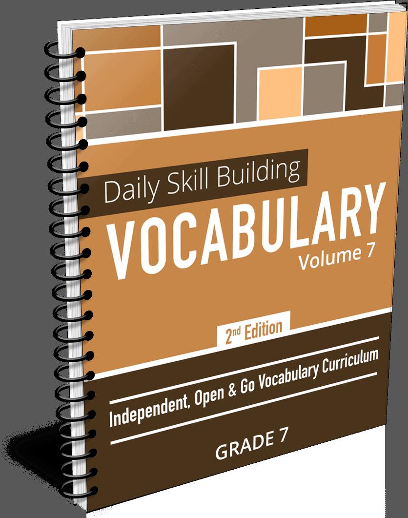 Daily Skill Building: Vocabulary - Grade 7 Second Edition