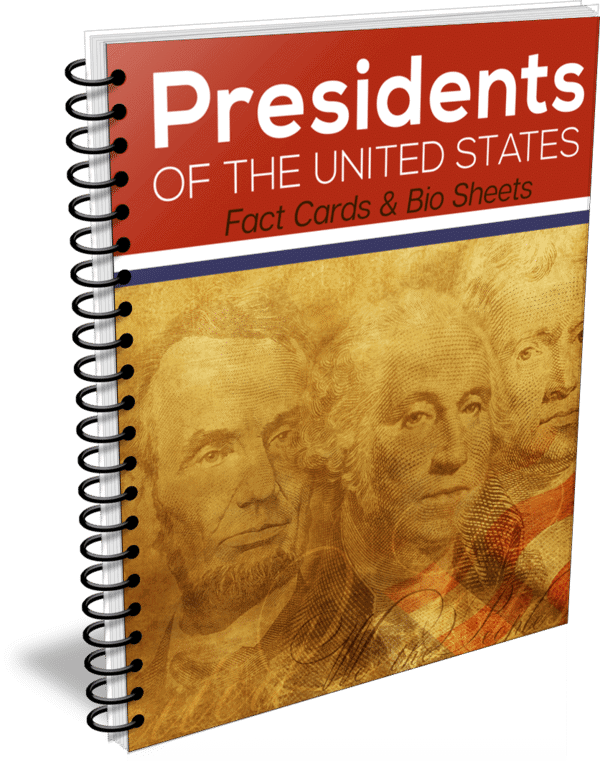 U.S. Presidents Fact Cards and Bio Sheets